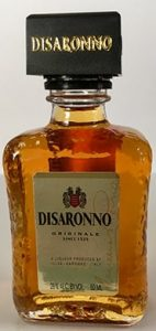 Amaretto Disaronno mini liquor bottle