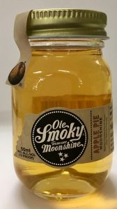 Ole Smoky Moonshine mini bottle