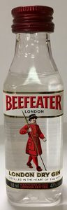 Beefeater London Dry Gin mini bottles