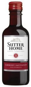 Sutter Home Cabernet Sauvignon mini bottle