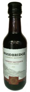 woodbridge cabernet savignon mini wine bottle