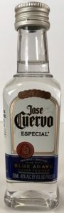 Jose Cuervo Silver mini bottle