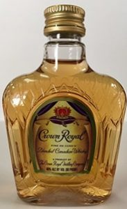 Crown Royal Canadian Whisky mini bottle
