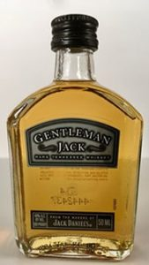 Gentleman Jack Tennessee Whiskey mini bottle
