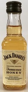 Jack Daniels Tennessee Honey Whiskey mini bottle