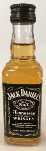 Jack Daniels Tennessee Whiskey mini bottle